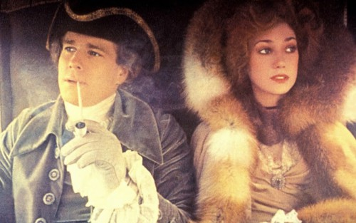 Barry Lyndon Ryan O'Neal as Barry Lyndon & Marissa Berenson as Lady Lyndon