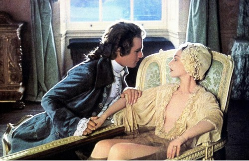 Barry Lyndon bathtub scene