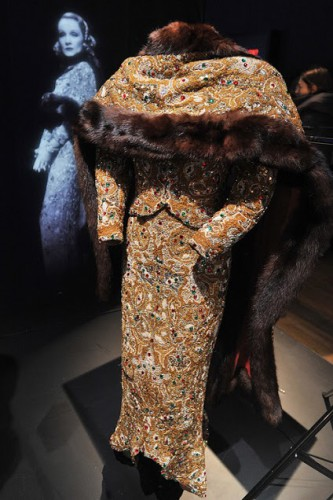 Larry's Marlene Dietrich gown from Angel at the V&A Exhibition