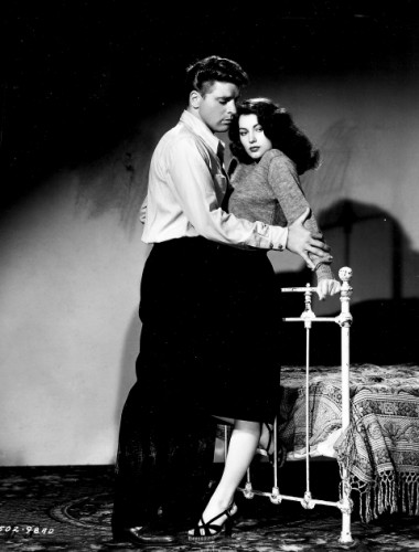 "Burt Lancaster and Ava Gardner in ""The Killers."""