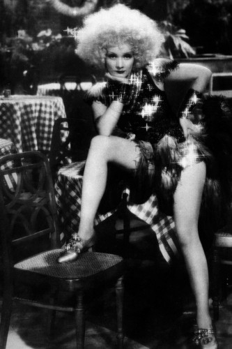 "Marlene Dietrich in ""Blonde Venus,"" 1932. Photo courtesy of Photofest"