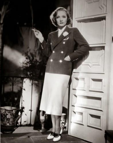 "Marlene in ""Desire."""
