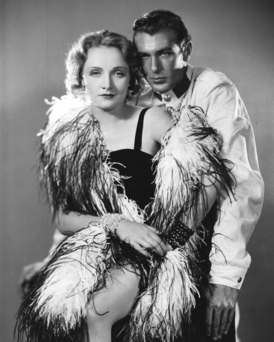 "Marlene Dietrich and Gary Cooper in ""Morocco,"" 1930. Photo courtesy of Photofest"