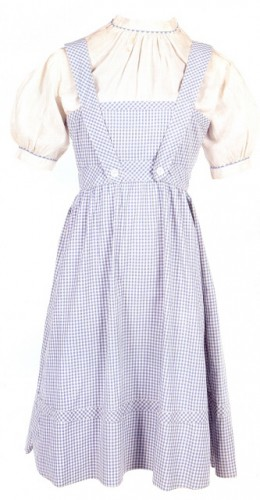 Judy Garland's movie-worn Dorothy dress