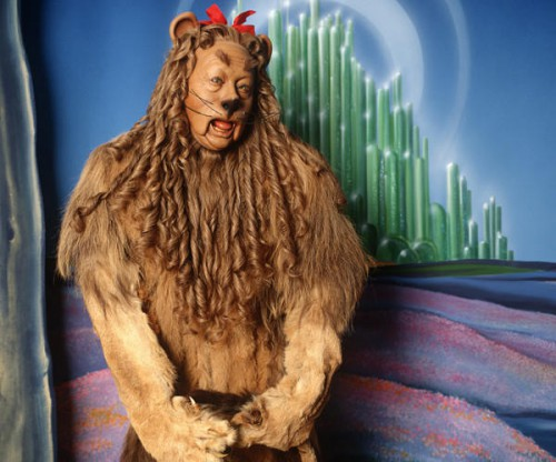 Wizard of Oz Cowardly Lion auction 2012