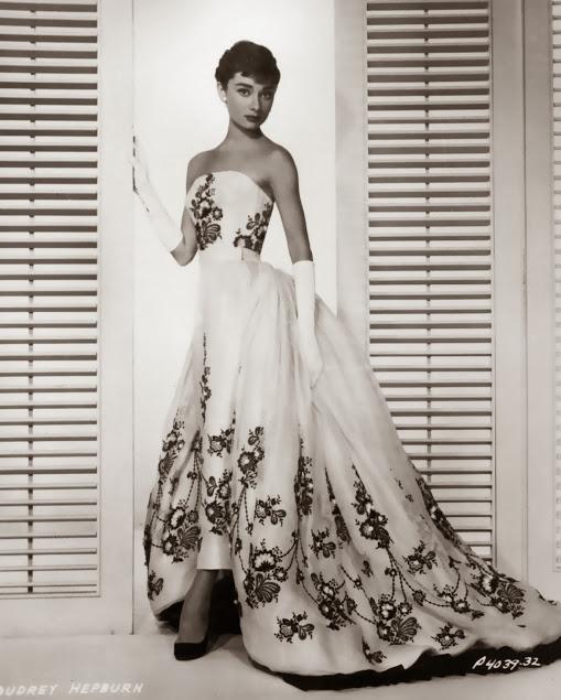 Audrey hepburn sabrina dress givenchy