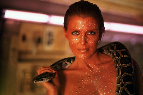 Blade Runner (1982) Directed by Ridley Scott Shown: Joanna Cassidy