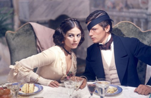 "Claudia Cardinale and Alain Delon in ""Il Gatopardo"" or ""The Leopard,"" 1963."