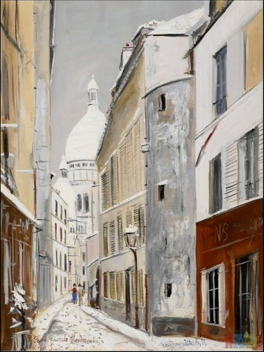 An American in Paris Utrillo sacre-coeur