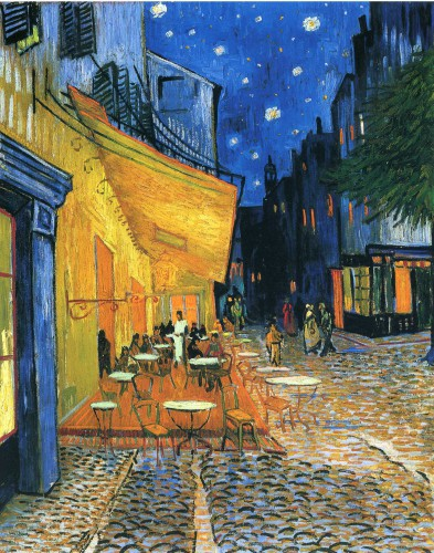 Cafe at Night in Arles Van Gogh