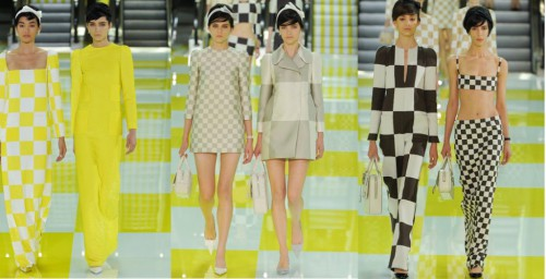 60s Marc Jacobs show 2012 Paris fashion week