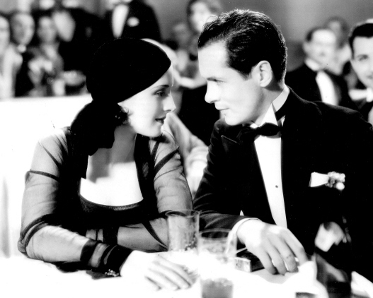 Norma Shearer and Robert Montgomery The Divorcee2