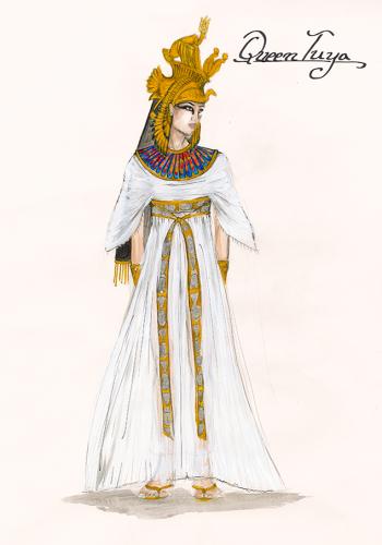 Exodus 7 Queen Tuya