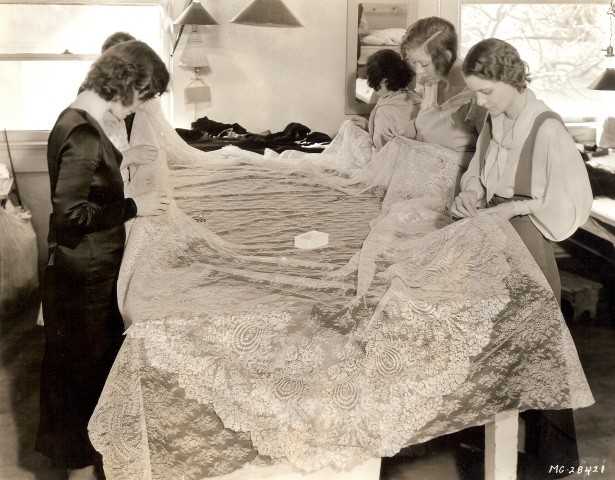 MGM lace workers