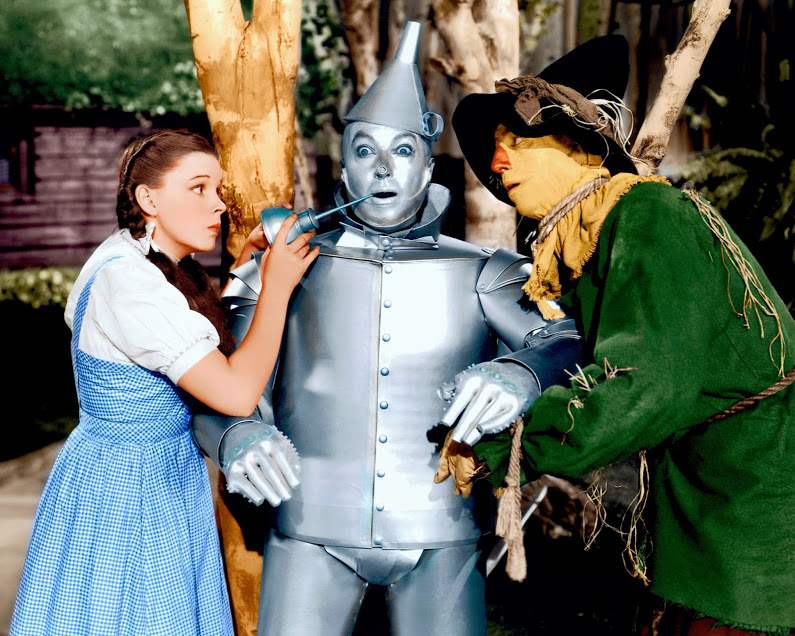 OZ Judy tin man scarecrow