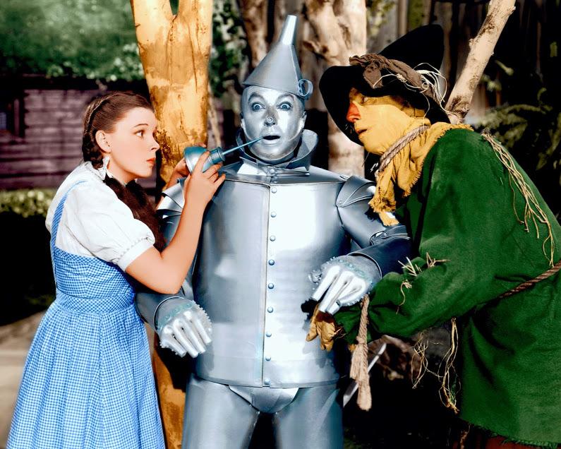 OZ Judy tin man scarecrow