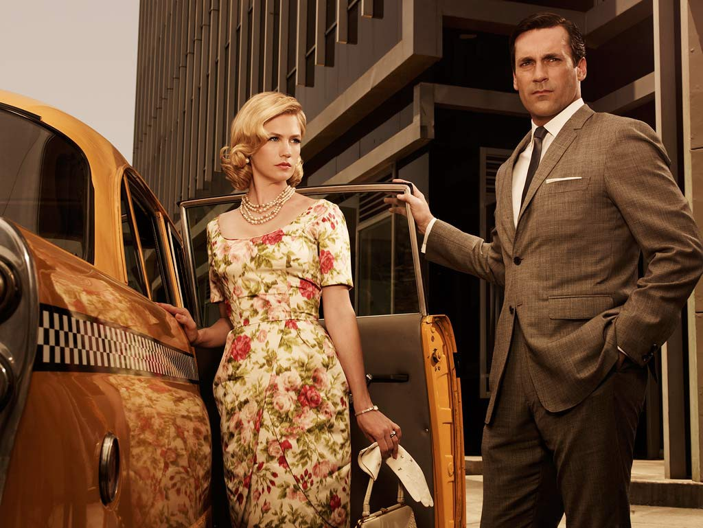mad-men Betty & Don