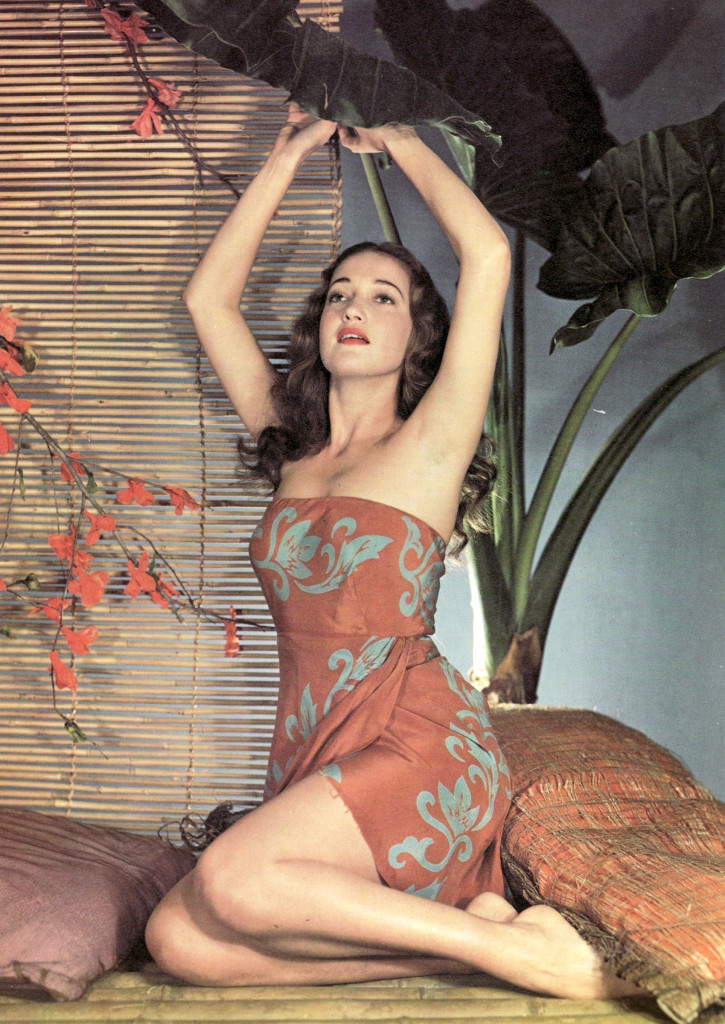 Dorothy  lamour  in  a  knockout  pictorial  spread!!!