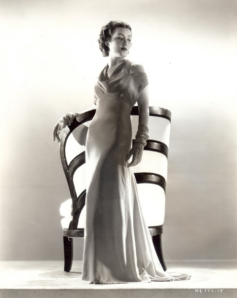 Fashion in Movies Fay Wray_ The Richest Girl In The World_1934