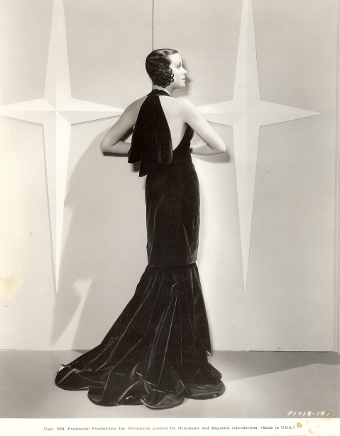 Fashion in Movies Kitty Carlile_Here Is My Heart_1934