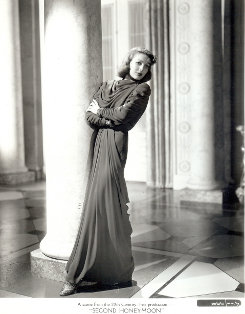 Fashion in Movies Loretta Young_Second Honeymoon
