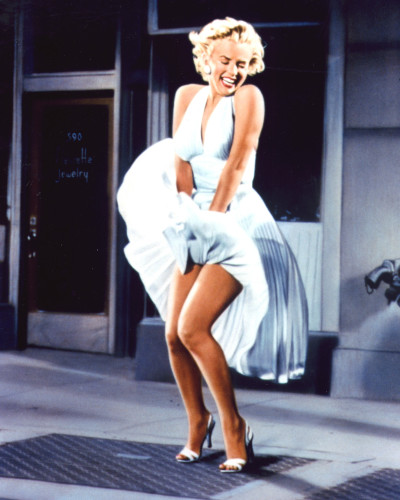 The Seven Year Itch (1955) Directed by Billy WilderShown: Marilyn Monroe