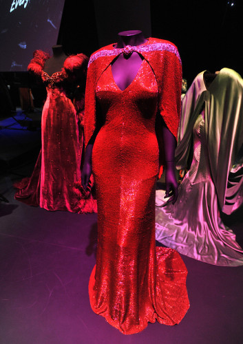 Hollywood costume V&A Bride Wore Red