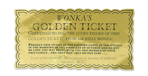TCM golden ticket