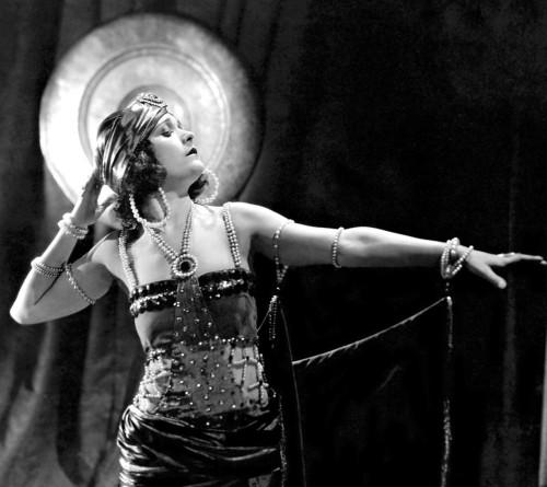 Bakst Pola Negri in Bella Donna 1923
