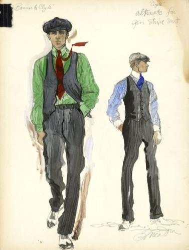 Bonnie & Clyde sketch 3