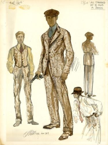 Bonnie & Clyde sketch 4