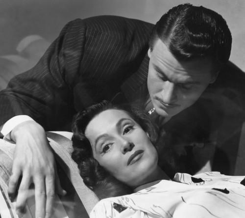 La Otra (1946, Mexico) aka The Other One Directed by Roberto Gavaldón Shown from top: Víctor Junco, Dolores del Rio