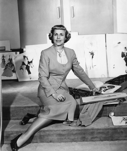 Mary Wills at the Samuel Goldwyn Studio circa 1948