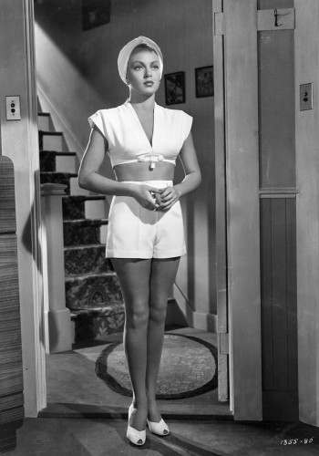 The Postman Always Rings Twice (1946) Directed by Tay Garnett Shown: Lana Turner (as Cora Smith)