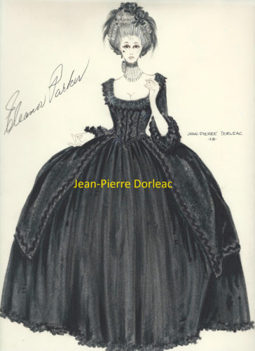 Jean-Pierre Dorleac Eleanor Parker - Black 2