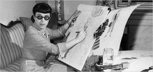 EDITH HEAD'S OWN COSTUME SKETCHES