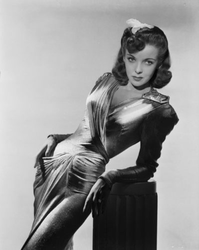 "Ida Lupino in ""They Drive by Bight."""