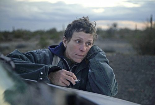 Frances McDormand in Nomadland courtesy Searchlight